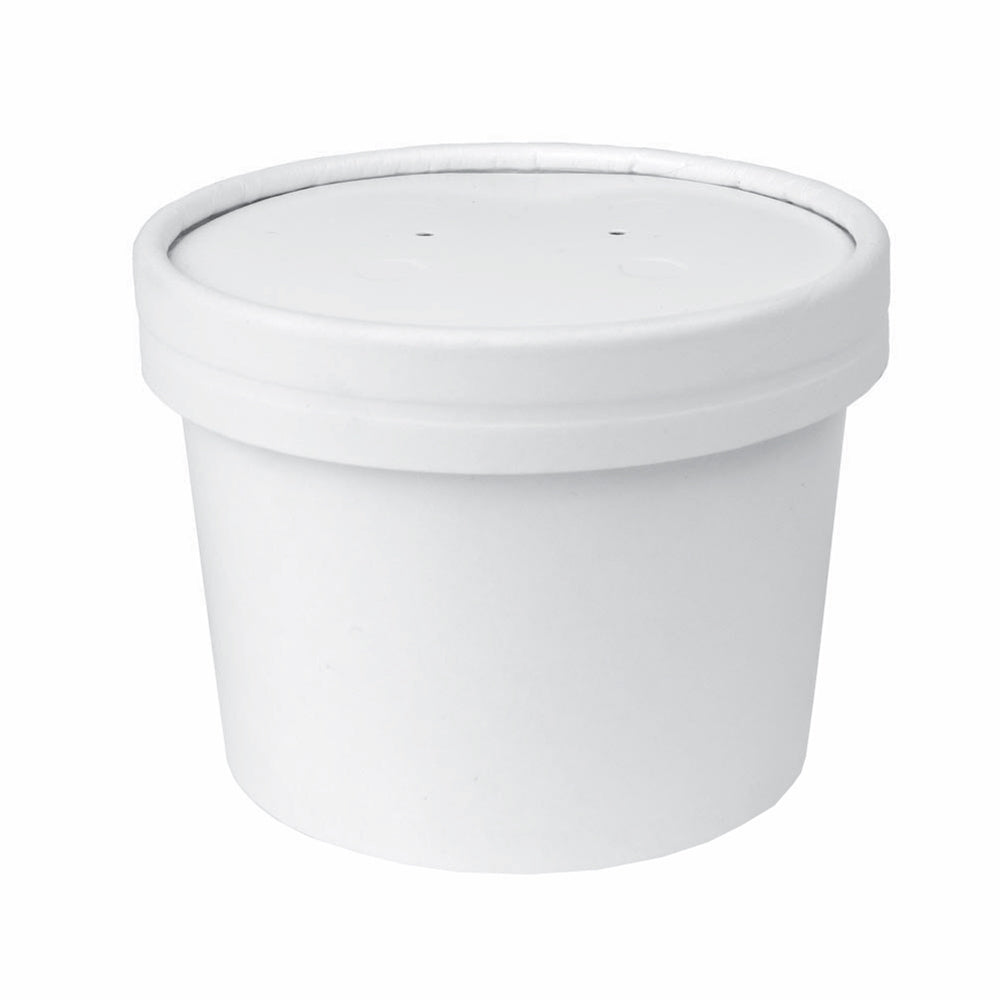 UNIQ 12 oz Hot Soup To Go Containers With Vented Lids