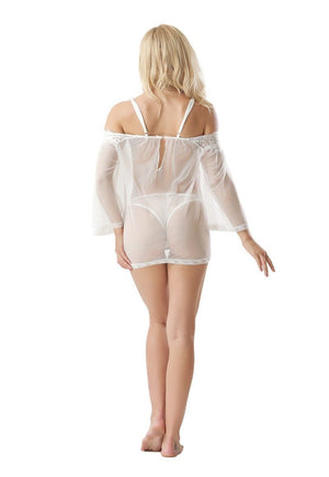 Nightdress With Thong-store-nir
