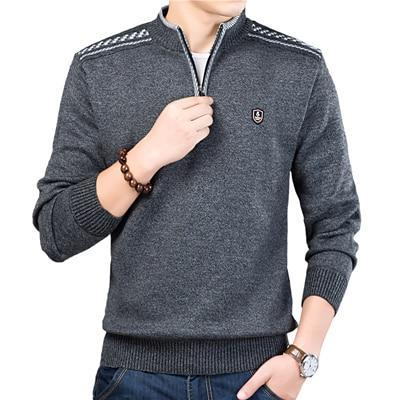 Pullover Zipper Sweater-store-nir