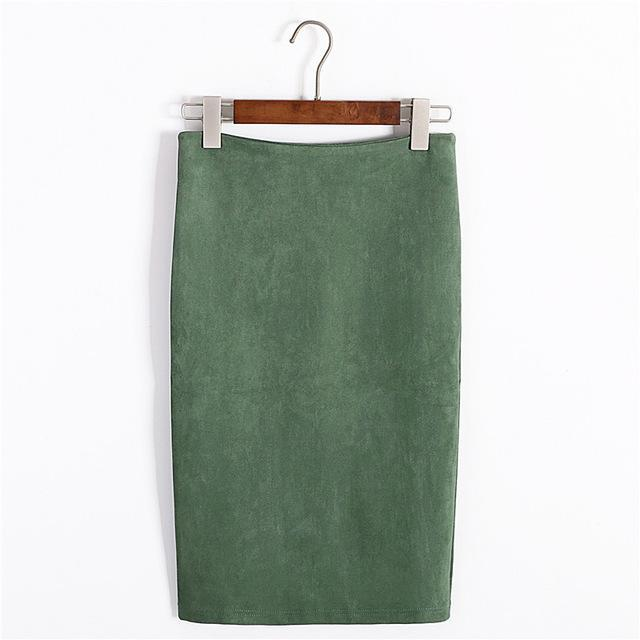 Hip Pencil Midi Skirt-store-nir