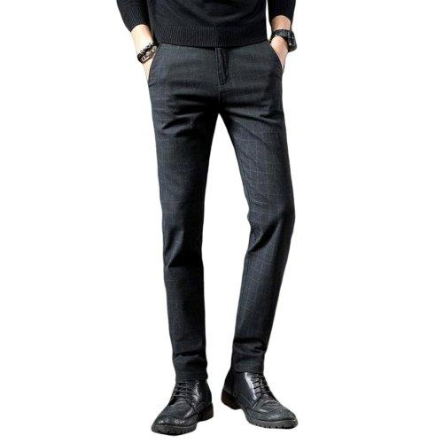 Casual Elastic Long Trousers-store-nir