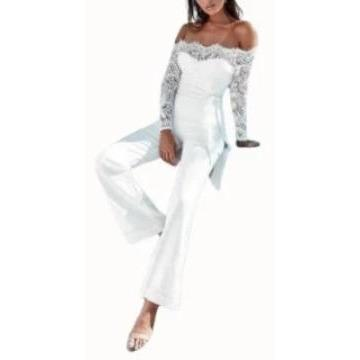 Lace Trim Jumpsuit-store-nir
