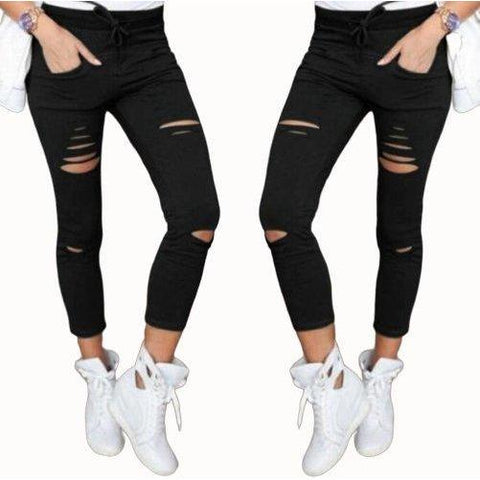 Skinny Jeans with holes-store-nir