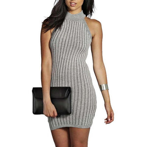 Sleeveless Sexy Mini Dress-store-nir
