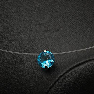 Colorful Zircon Choker Necklace-store-nir