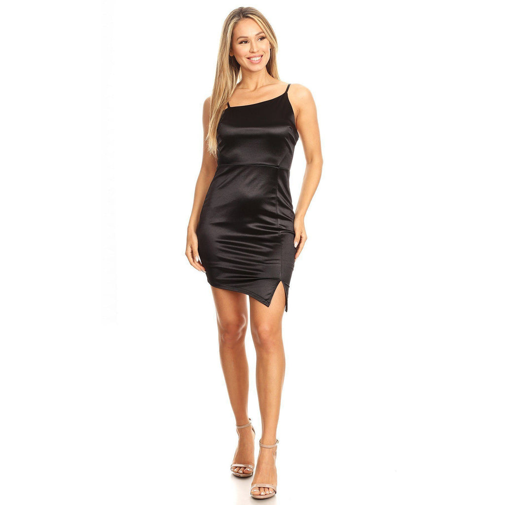 Solid Mini Dress-store-nir