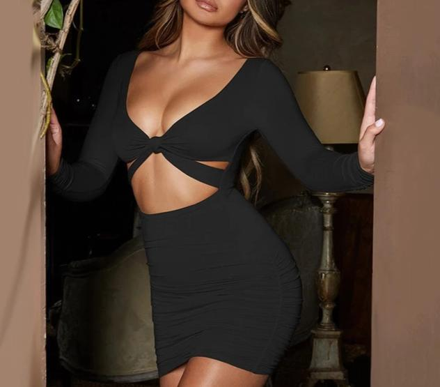Sexy Hollow Out Dress-store-nir
