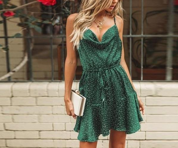 Polka Dot Dress-store-nir