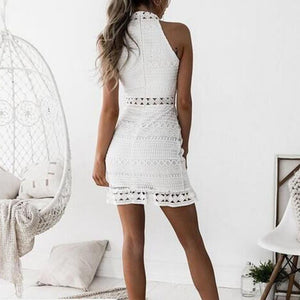 Hollow out casual dress-store-nir
