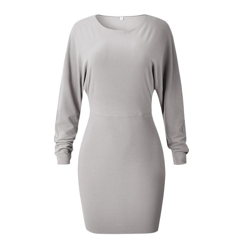 Long Sleeve Casual Dress-store-nir