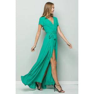 Flowy Maxi Wrap Dress-store-nir