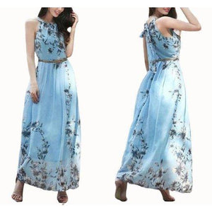 Floral Evening Dress-store-nir