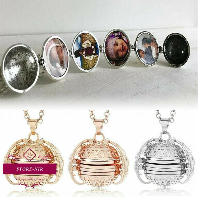 Expanding 4 Photo Memory Necklace - store-nir