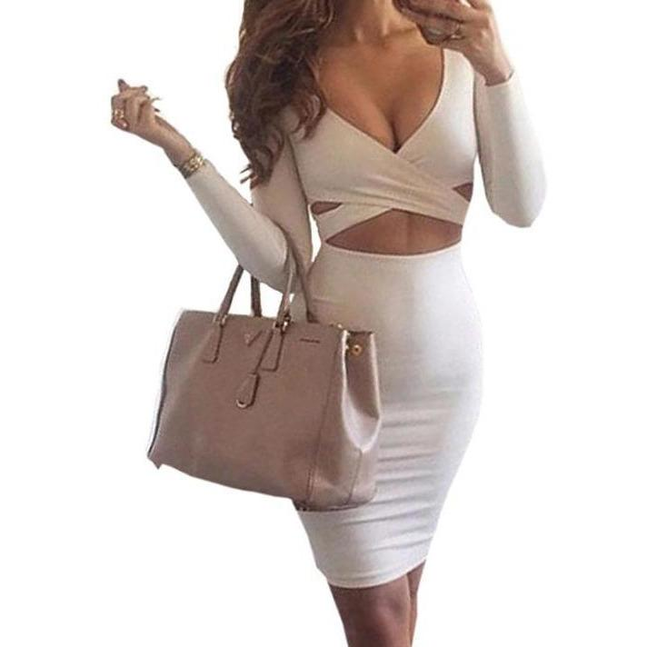 Sexy Bodycon Bandage Dress-store-nir