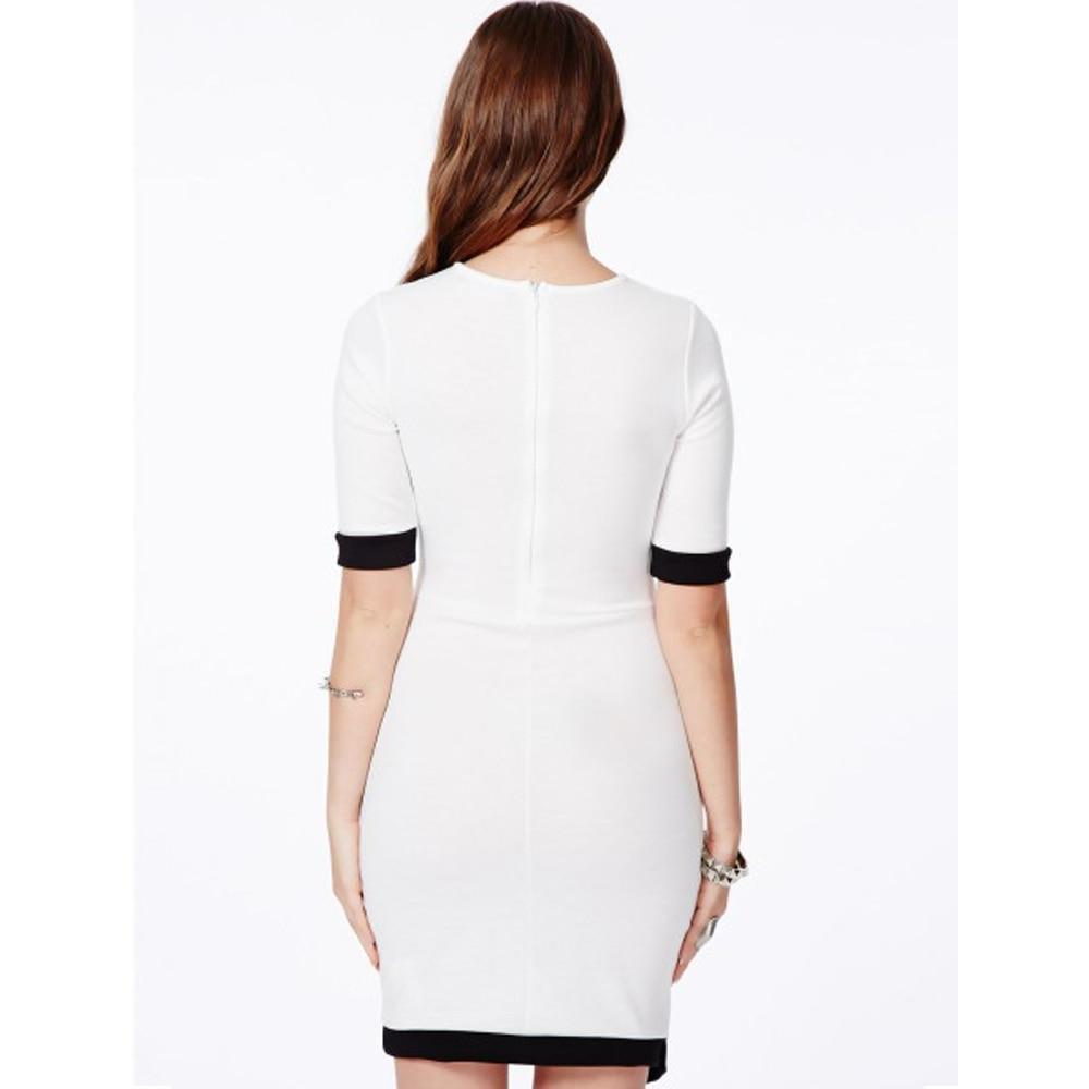 Half Sleeves Bodycon Mini Dress-store-nir