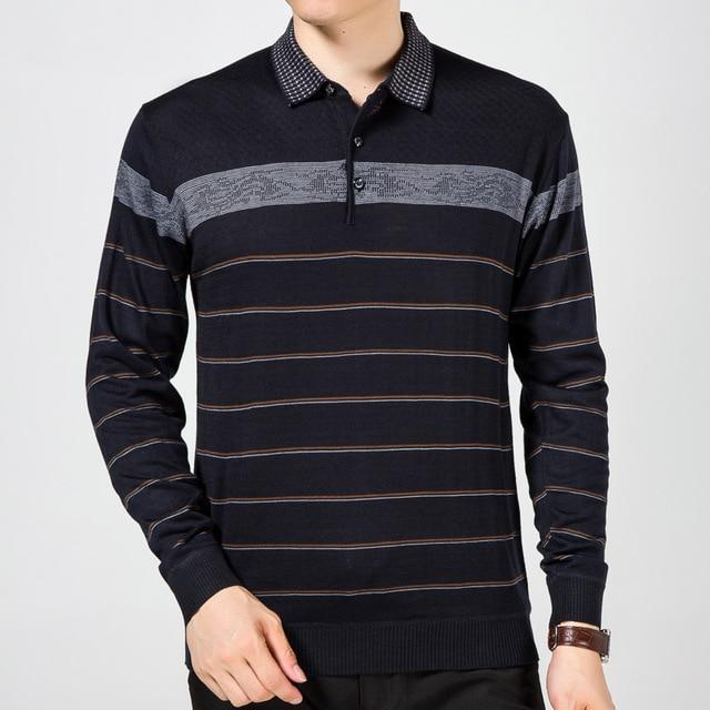 Long Sleeve Polo Shirt-store-nir