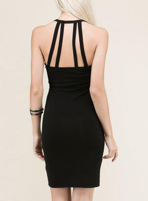 Keyhole Mini Dress-store-nir