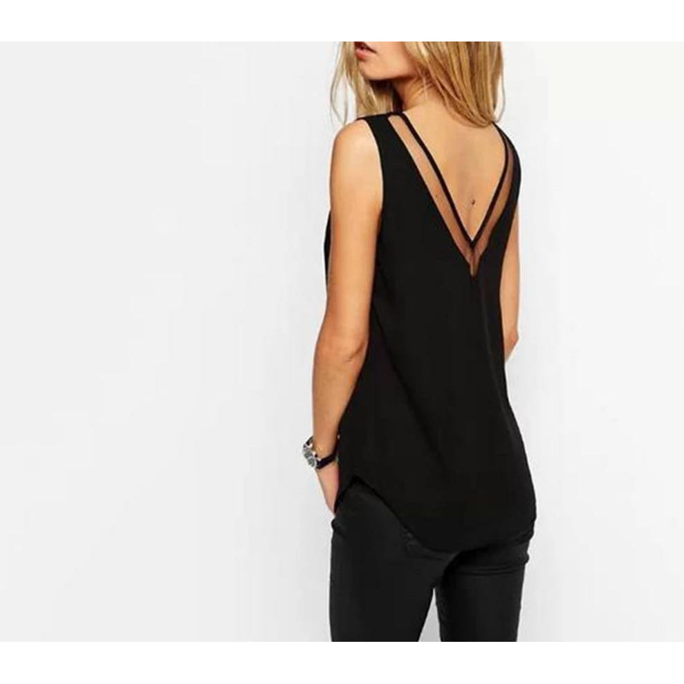 Sexy V Neck Top-store-nir