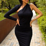One Shoulder Bandage Dress-store-nir
