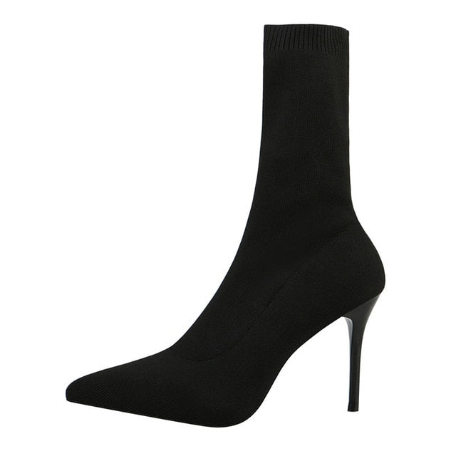High Heels Sock Boots-store-nir