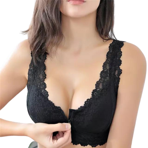 Zipper Push Up Bra-store-nir