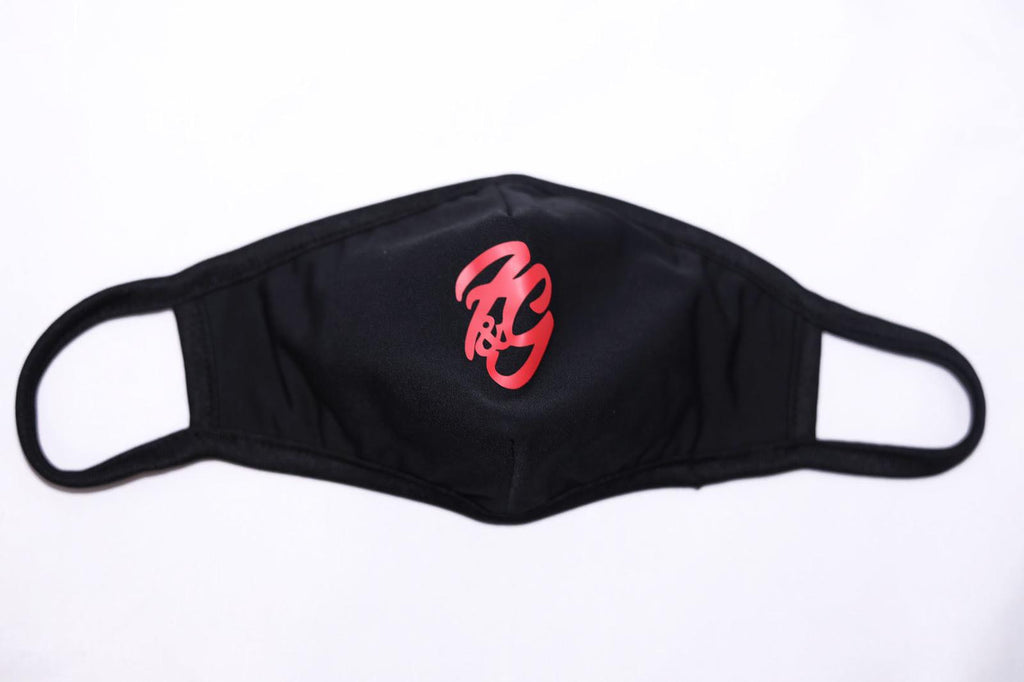 Fun and Games Face Mask Black and Red