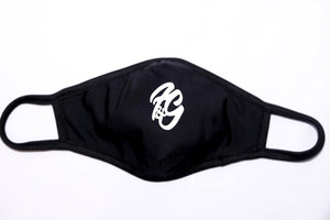 Fun and Games Face Mask Black with Reflective Logo