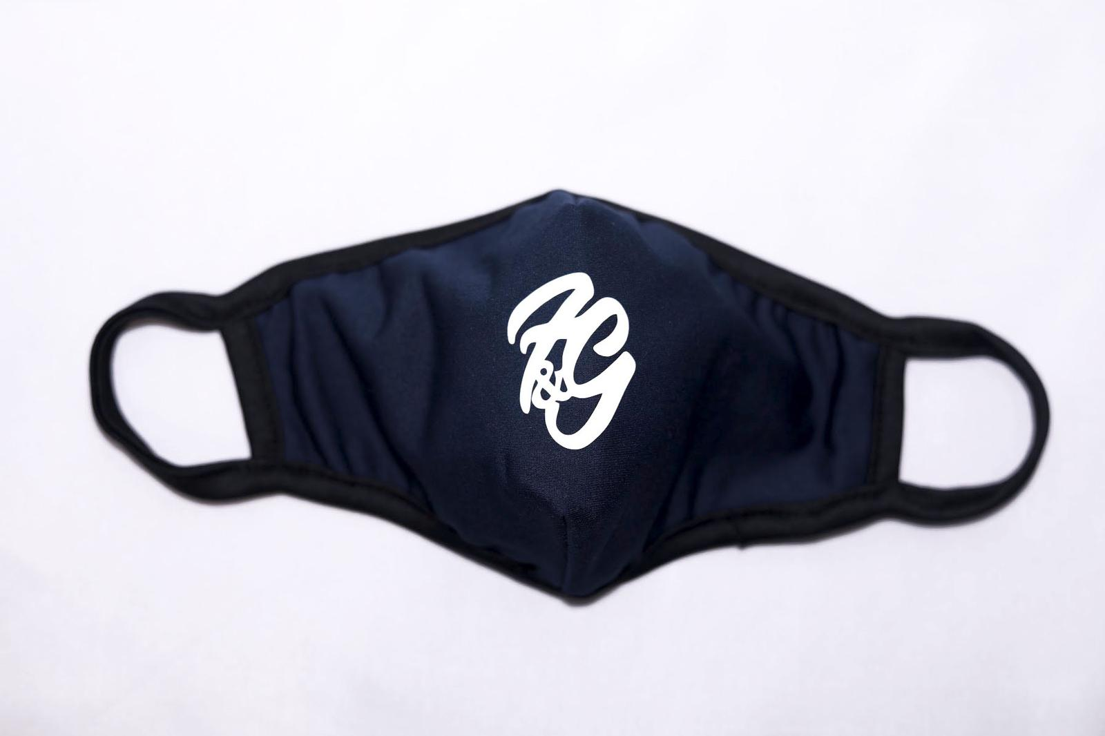 Fun and Games Face Mask Navy Blue