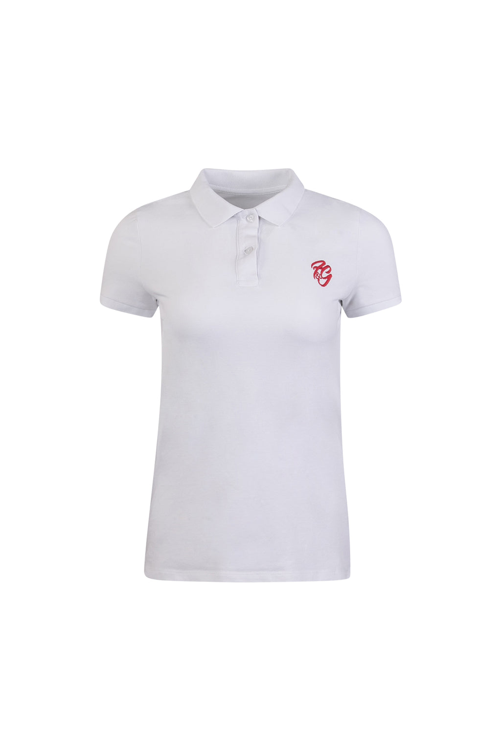 Women's Embroidered F&G Polo Shirt