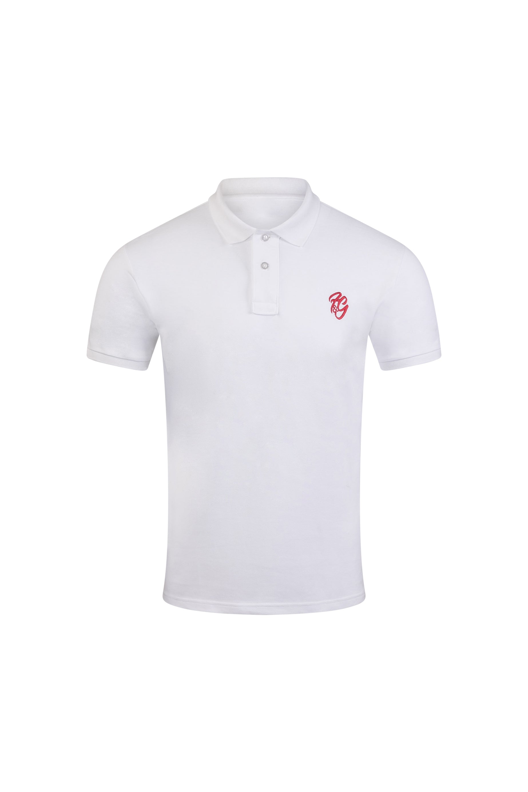 Mens F&G Embroidered Polo Shirt