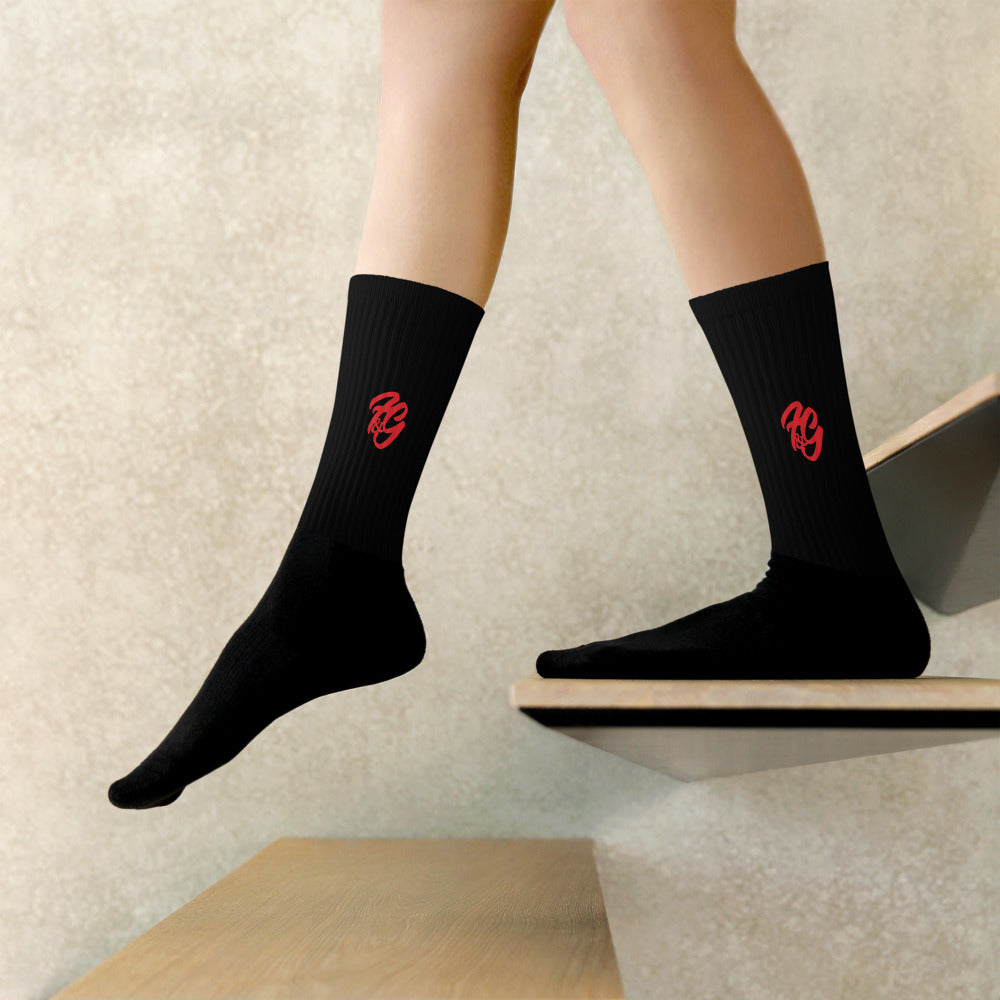 Black Unisex Socks