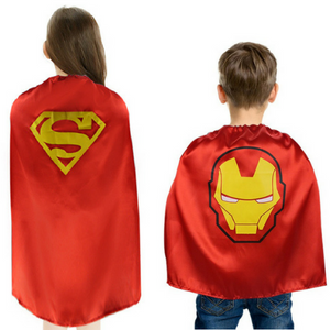 Superhero or Princess CAPE & MASK SET Kids Children's Everyday Costume - Weebumz