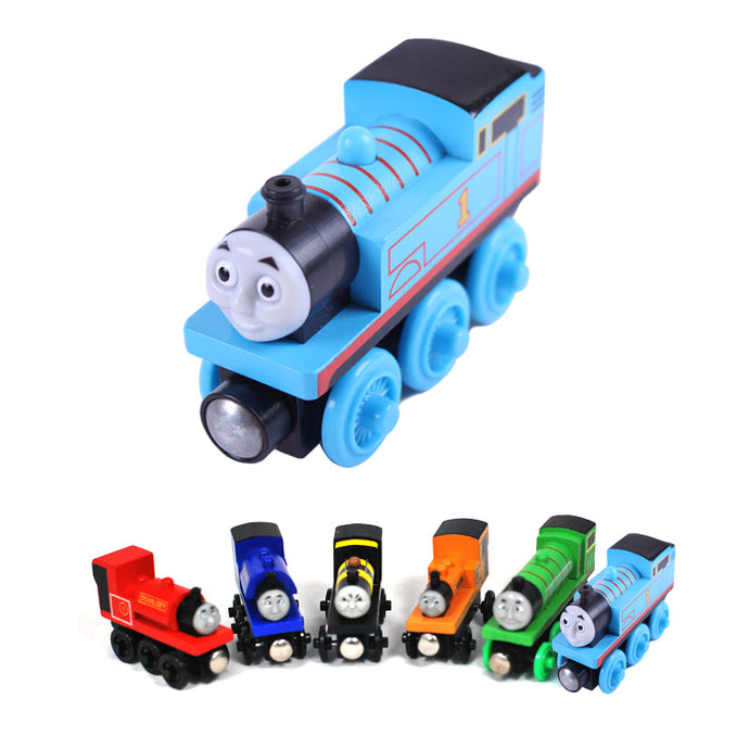 Wooden Toys Thomas Train Magnetic Thomas and Friends for Baby Children Kids - 21 Colors! - Weebumz