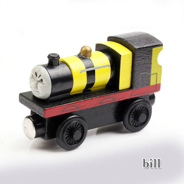 Wooden Toys Thomas Train Magnetic Thomas and Friends for Baby Children Kids - 21 Colors!