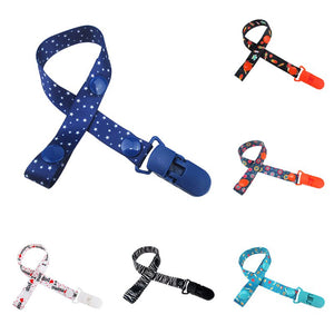 16 Color Baby Pacifier Clip Chain Dummy Clip Holder For Nipples Children Pacifier Clips Pacifier Holder - Weebumz