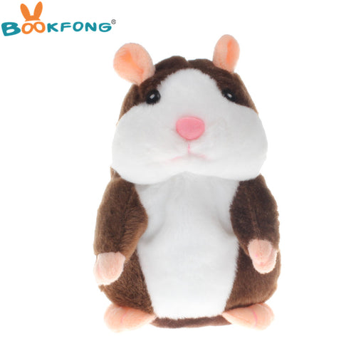 Hot Talking Hamster Plush Toy - Cute Speaking/Talking Sound Recording Hamster Electronic Pets For Children, Kids or Babies