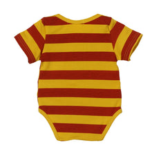 2017 Fashion Baby Romper Newborn Infant Baby Boy Short Sleeve Stripe Letter Print Romper Jumpsuit Kids Clothes