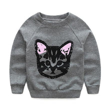 Autumn Winter Girl Clothing Set Long Sleeve Top, Sweatshirt with Hoodie and Pants - 2pcs Cute Kids Outfit. Clothes with Cats - Weebumz