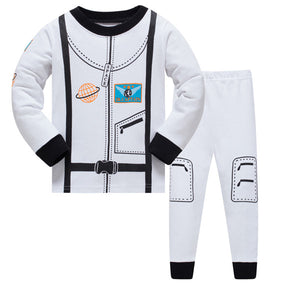 New Children Pajamas Set Star Pattern for Kids or Infants . Sleepwear Clothing in Cotton for Baby/ Toddler Size 2-7 - Weebumz