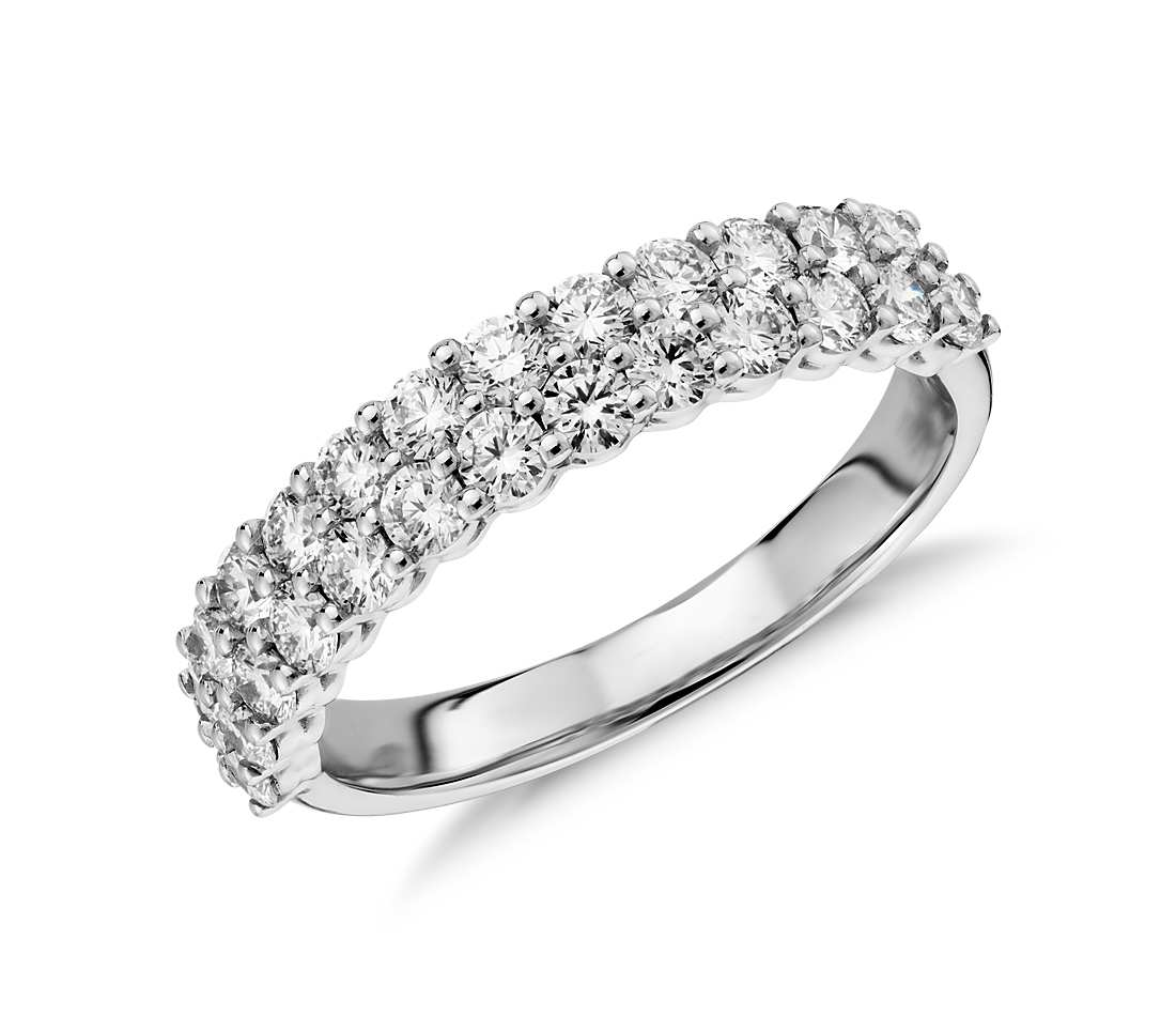Half Eternity Band - Classic Double (1.15 ct tw)