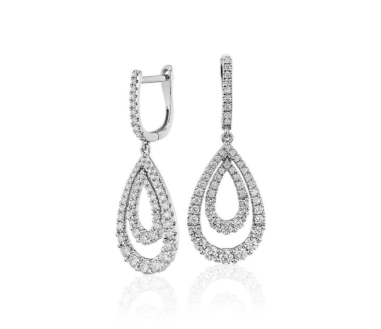 Classic Diamond Teardrop Double