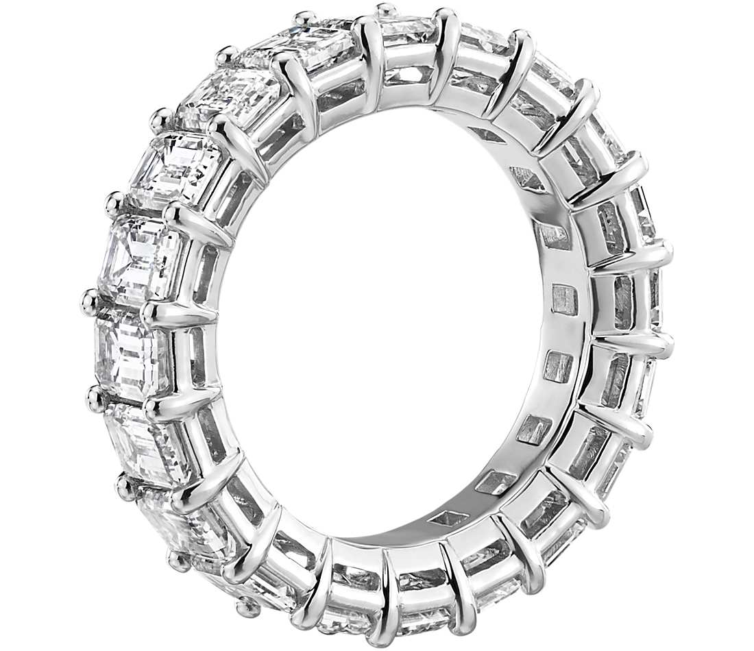 Eternity Band - Emerald Cut Diamond (6 ct tw)