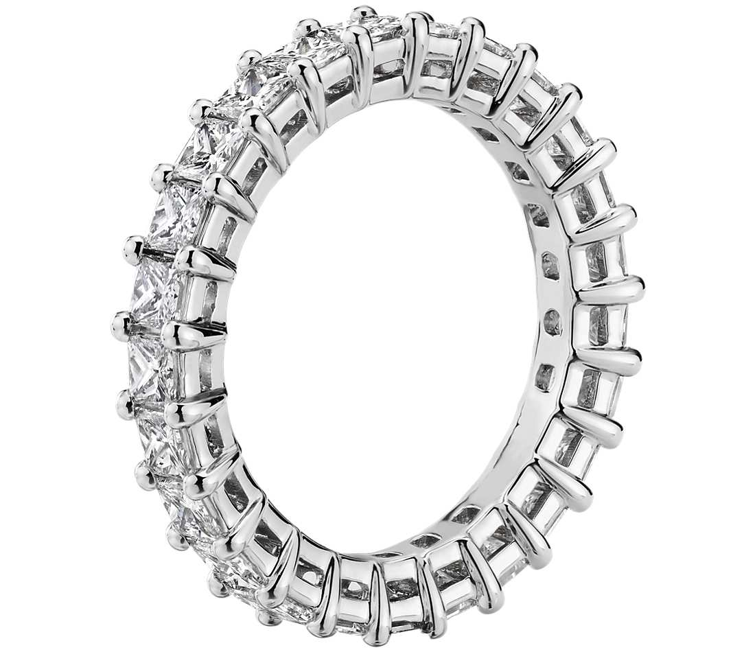 Eternity Band - Princess Cut Diamond (2 ct tw)