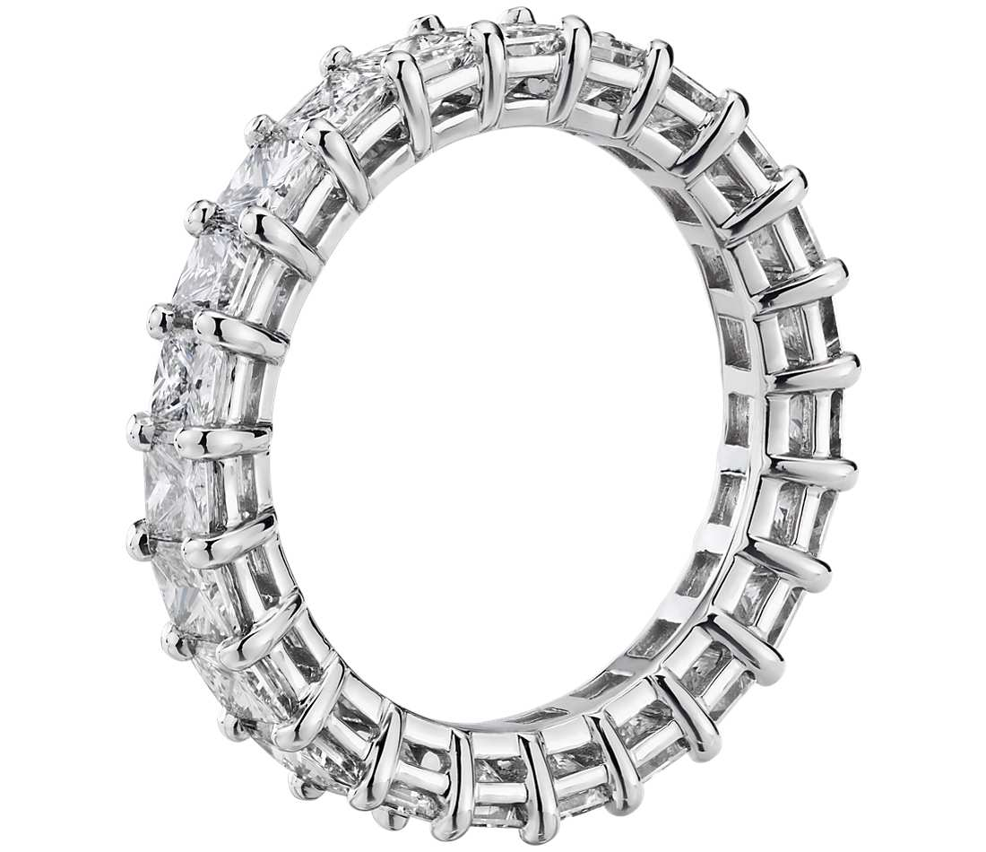 Eternity Band - Princess Cut Diamond (3 ct tw)