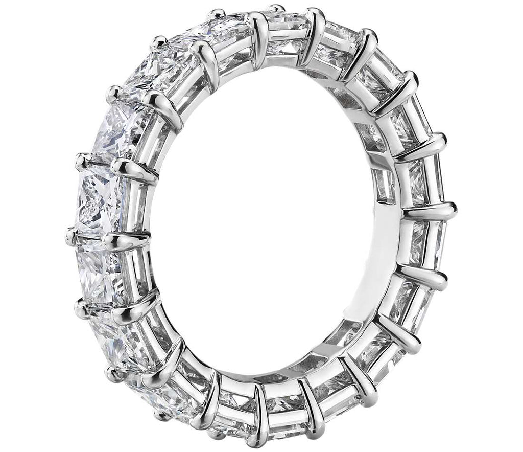 Eternity Band - Princess Cut Diamond (5.5 ct tw)