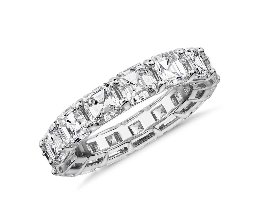 Eternity Band - Asscher Cut Diamond (7 ct tw)