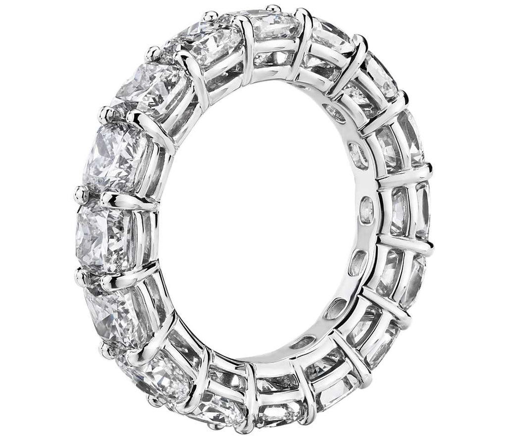 Eternity Band - Cushion Cut Diamond (7 ct tw)