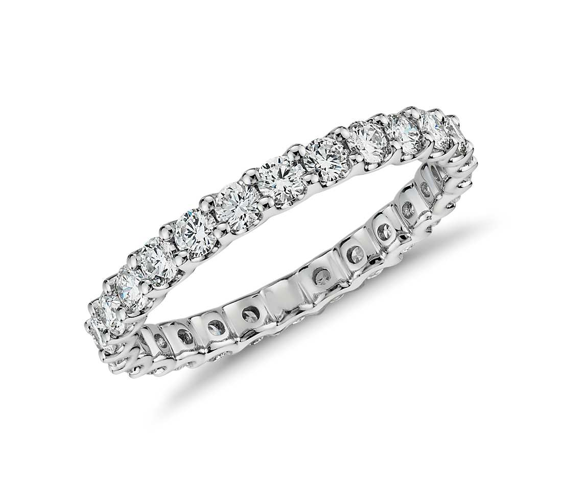 Eternity Band - 14K White Gold (1 ct tw)