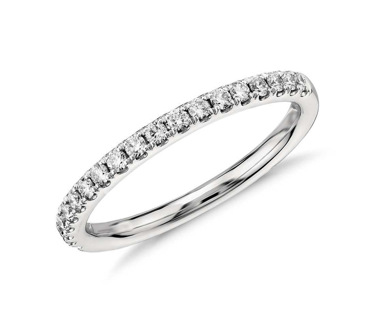 Half Eternity Band - Pave (1/3 ct tw)