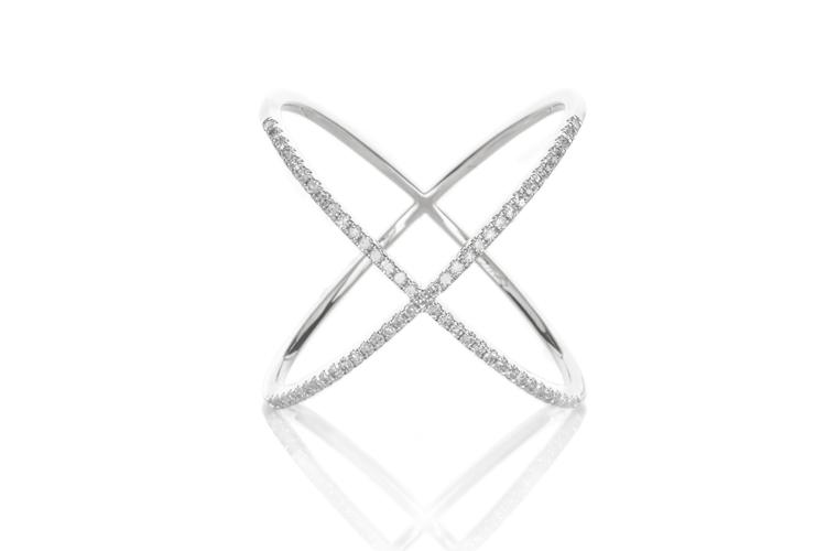 Diamond X Ring